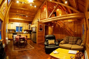 Adirondack Log Home vacation rental Adirondack Mountains near Lake Placid, Whiteface over looking the Saranac River Valley